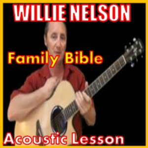learn to play family bible by willie nelson
