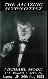 brewers comedy hypnosis show with doc strange as the amazing hypnotist michael moon - aug 1993