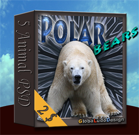 polar bear psd pack