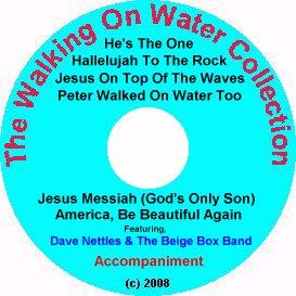 the walking on water collection with accompaniment