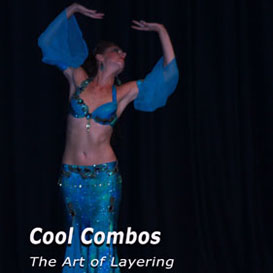 belly dance cool combo and the art of layering