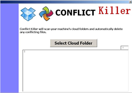 conflict killer (automatically delete any conflicting files from your dropbox or syncplicity folders)