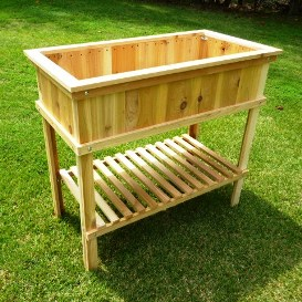 raised garden planter