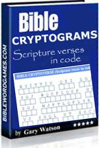 bible cryptograms