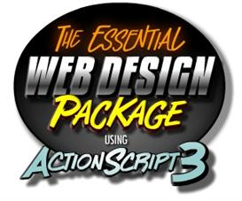 essential web design package for actionscript 3