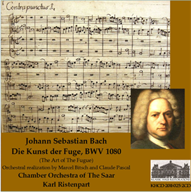 J. S. Bach: Die Kunst der Fuge, BWV 1080 - Chamber Orchestra of The Saar/Karl Ristenpart   Music   Classical
