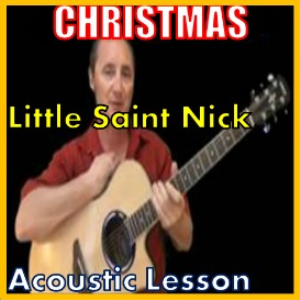 learn to play little saint nick by the beach boys