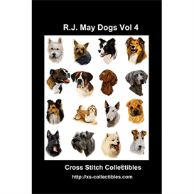 Robt. J. May Vol 4 Cross Stitch Collection - 16 cross stitch pattern by Cross Stitch Collectibles | Crafting | Cross-Stitch | Other
