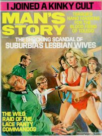 MAN'S STORY magazine, December 1973 (COMPLETE ISSUE) | eBooks | Fiction