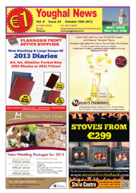 Youghal News October 10 2012 | eBooks | Periodicals