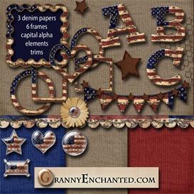 granny enchanteds americana twig kit