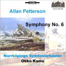 pettersson: symphony no. 6 - norrköpings symfonieorkester/okko kamu
