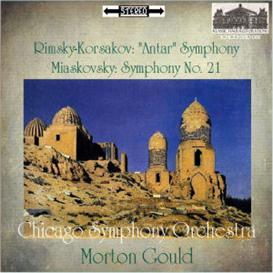 KHCD-2012-081 (STEREO) - Rimsky-Korsakov: Symphony No. 2 (Antar); Miaskovsky: Symphony No. 21 - Chicago Symphony Orchestra/Morton Gould | Music | Classical