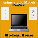 Anime Studio: Modern Home | Photos and Images | Clip Art