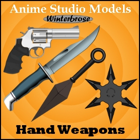 Anime Studio: Hand Weapons | Photos and Images | Clip Art