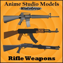 Anime Studio:  Rifle Weapons | Photos and Images | Digital Art