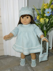 Doll Knitting Pattern - A005 - Aqua Dream | Crafting | Sewing | Dolls and Toys