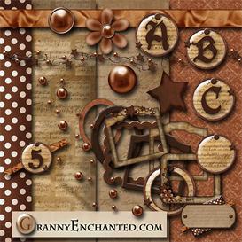 Granny Enchanteds Rusty Music Kit | Crafting | Paper Crafting | Other