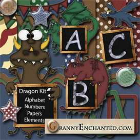 Granny Enchanteds Dragon Kit | Crafting | Paper Crafting | Other