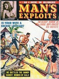 MAN'S EXPLOITS, March 1964 (COMPLETE ISSUE) | eBooks | Periodicals