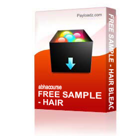 Free Sample - Hair Bleaching Basic | Other Files | Presentations