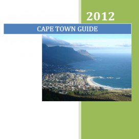 cape town guide - for expats and business travellers