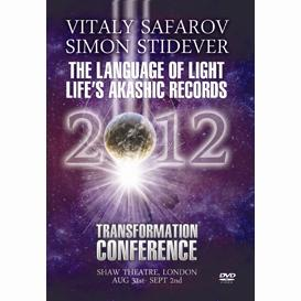 vitaly stafrov & simon stidever - the language of light life's akashic records transformation 2012 london mp4 video