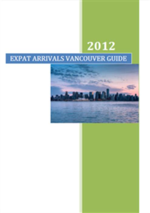 First Additional product image for - Expat Arrivals Vancouver Guide
