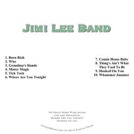 jimi lee band cd