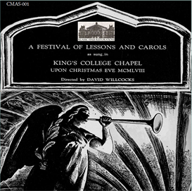 a festival of lessons and carols 1958 - kings college choir