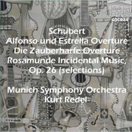 """Rosamunde"" Incidental Music selections - Munich Symphony Orchestra/Kurt Redel 