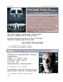 PROMETHEUS, Whole-Movie English (ESL) Lesson | eBooks | Education