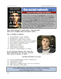 the social network, whole-movie english (esl) lesson