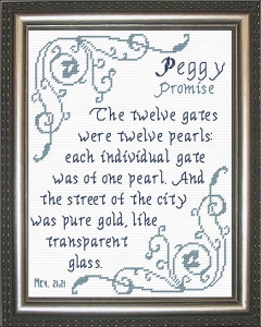 name blessings -  peggy