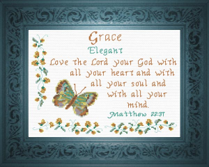 Name Blessings -  Grace 2 | Crafting | Cross-Stitch | Other