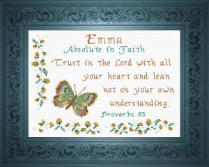 name blessings -  emma 3