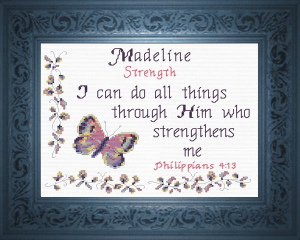 name blessings -  madeline