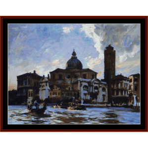 palazzo labbia - sargentcross stitch pattern by cross stitch collectibles
