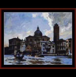 Palazzo Labbia - Sargentcross stitch pattern by Cross Stitch Collectibles | Crafting | Cross-Stitch | Wall Hangings