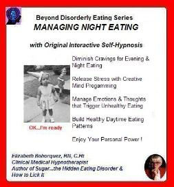 stop night eating hypnotically