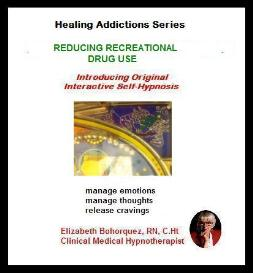 reducing recreational drug use with self-hypnosis