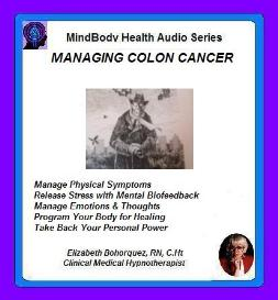 managing colon cancer with self-hypnosis