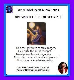 grieving - death of a pet with self-hypnosis