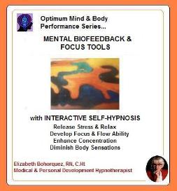 mental biofeedback - body scanning with self-hypnosis