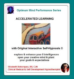 accelerated learning with self-hypnosis