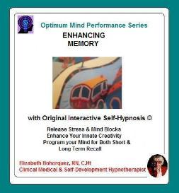 memory recall with self-hypnosis