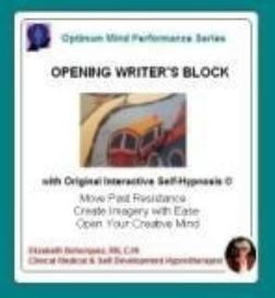 opening writer's block with self-hypnosis