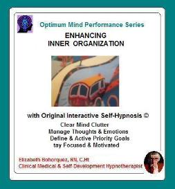 inner organization with self-hypnosis