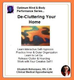 de-cluttering your home & life with self-hypnosis