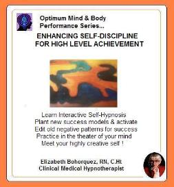 enhanced self-discipline for high level achievement with self-hypnosis